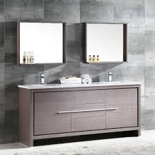 gray double sink vanity. trieste allier 72\ gray double sink vanity