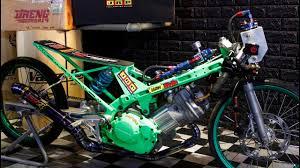 build a thai concept drag bike