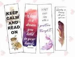 Design Bookmarks Design Beautiful Bookmarks For You By Karenjohann