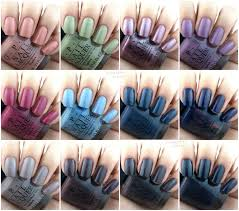 Opi Nail Color Chart 2017 Opi Fall 2017 Iceland Collection Review And Swatches Opi