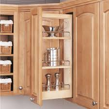 Kitchen Cabinets Organizer Rev A Shelf 2625 In H X 5 In W X 1075 In D Pull Out Wood Wall