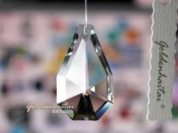 crystal pear shape chandelier parts haitai