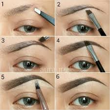 long lasting natural brow tutorial using anastasia beverly hills brow genius kit in brunette from anastasia net last all day with waterproof