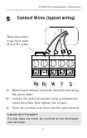 honeywell thermostat th5110d1022 wiring diagram wiring diagrams honeywell rthl2310b wiring at Honeywell Rth2310 Wiring Diagram