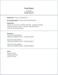 Limited Work Experience Resume Template No For College Student With