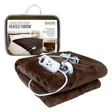 bauer luxury soft touch heat adjule programmable throw 120x160cm here to enlarge save