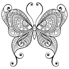 Google Images Butterfly Coloring Pages Color Bros