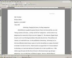 mla format for a essay heading for essays mla format