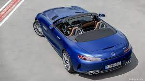 2020 amg gt r roadster. 2020 Mercedes Amg Gt C Roadster Color Brilliant Blue Top Hd Wallpaper 11