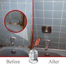 remove mold from shower how to caulk or tile