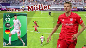 Review Featured Player SS 93 Rating MÜLLER - Pes 2021 Mobile - YouTube