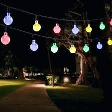 decorative solar lighting. Decorative Lighting Outdoor String Lights Solar Light With Led Crystal Ball  For Garden Flood Decorative Solar Lighting
