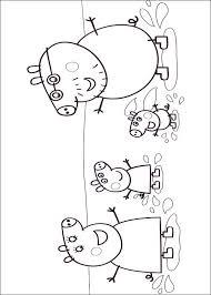 Kids N Fun Kleurplaat Peppa De Big Peppa Pig
