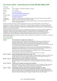 Resume Writing Samples Detailed Resume Sample Examples Of Resumes Resume Writing Advice 43