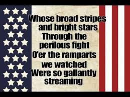 Image result for star spangled banner lyrics