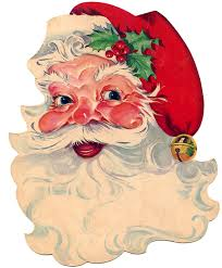 vintage santa claus face clipart. Plain Clipart Click HERE To Download The Larger Updated Scan For This Santa To Vintage Claus Face Clipart The Graphics Fairy