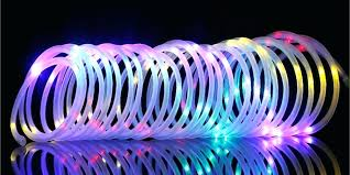 solar powered rope lights powered best solar rope lights solar powered string lights uk