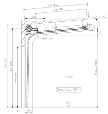 sectional doors hörmann cad dwg archispace