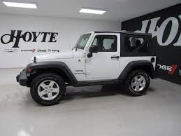 jeep wrangler 2015 white. 2015 jeep wrangler 4x4 2 door suv sport white used for sale mckinney frisco