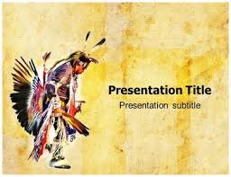 American Indian Powerpoint Templates American Indian Ppt