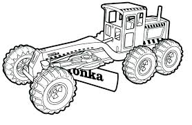 cars and trucks coloring pages construction