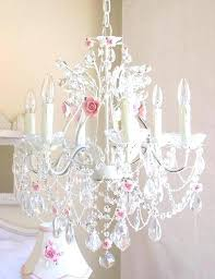 baby pink chandelier tag chandeliers image gallery of crystal for girl room view 4 6 swing baby pink chandelier