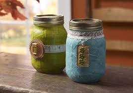 How To Decorate Canning Jars Mason jar crafts fall gift jars Mod Podge Rocks 6