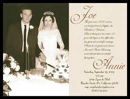 40th Wedding Anniversary Invitation Templates Business