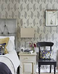 Purple Wallpaper For Bedroom Make Your Bedroom Gorgeous With Wallpaper The Room Edit