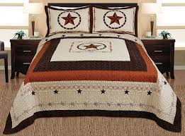 Cabin Bedding Sets Sale – Ease Bedding with Style & Quilt Bedspread Coverlet Set Full / Queen Size Beige, Brown, Black Adamdwight.com