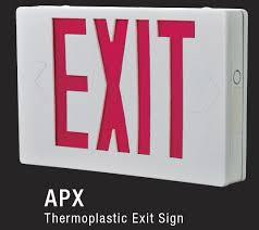 pro apx7 led exit sign all pro apx7 led exit sign