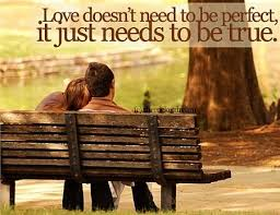 Love Couple Quotes Delectable Love Needs Just To Be True Quote Picture