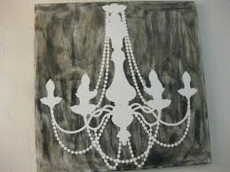 i loved the chandelier canvas seen in the ballard designs catalog but was not willing to pay the so i decided to make my own