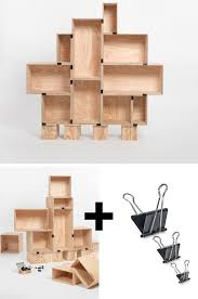 crates binder clips easiest diy shelves ever pic for 25 diy small