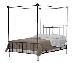 Bedroom  24 Elegant Iron Canopy Bed Designs To Inspire You  Cast Canopy Iron Bed