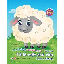 Sách - Song Ngữ A-V - Những Câu Chuyện Về TG Loài Vật - Tớ Là Một Chú Cừu  chính hãng