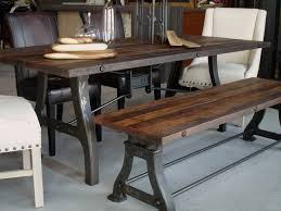 industrial dining furniture. Industrial Wood Dining Table Furniture I