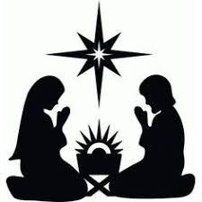 nativity silhouette printable. Plain Silhouette Silhouette Design Store Nativity With Star On Nativity Printable O