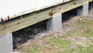 Pier And Beam Foundation Design Foundation Settlement Pier Beam And Joist Repairs In Georgia