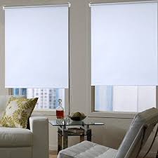light blocking blinds. Sweet HOME Blackout Blinds White Roller 80x175cm Light Blocking Silver Coating No Drilling Curtains With