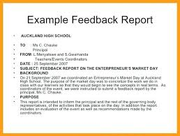 Formal Report Format Sample Introduction Example Questionnaires