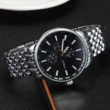 new fashion full steel watch men luxury brand water resistant new fashion full steel watch men luxury brand water resistant military watches business men sports clock wristwatch mn016