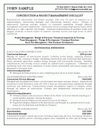 Sample Construction Resume Template Laborer Pics Examples | Resume ...