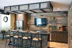 industrial rustic design furniture. Bar With Rustic Design In Basement Of Home Splendid Kitchen Ideas Furniture  Italian Industrial