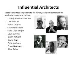 4. Influential Architects Notable architects important to the ...