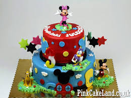 mickey mouse clubhouse cakes london mickey mouse clubhouse birthday cake ideas