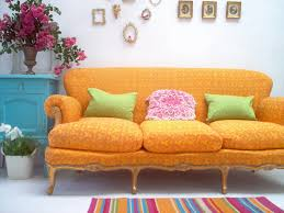 Pink And Green Living Room Theme Inspiration Decor Ideas In Yellow And Orange Color