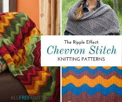 Chevron Knitting Pattern Impressive 48 Free Chevron Stitch Knitting Patterns AllFreeKnitting