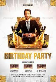 Birthday Flyers Birthday Party Flyer Template Download Birthday Psd Flyer