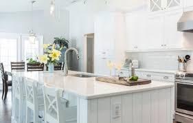 pure white kitchen area counter tops